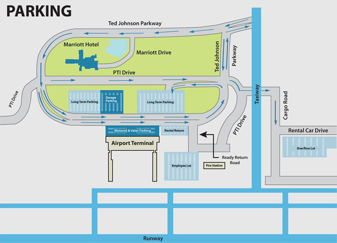 Airports In Nc Map.Airport Parking Piedmont Triad International Airport