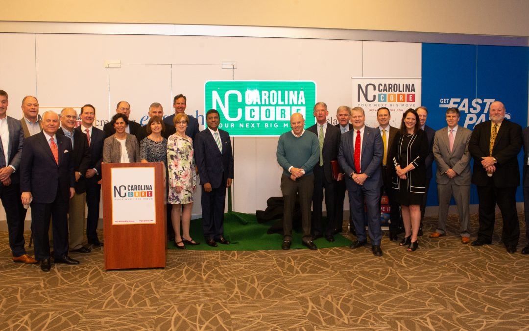 Carolina Core Goes 'All In' on Regionalism with  Megasite Co-Branding and New Highway Signage