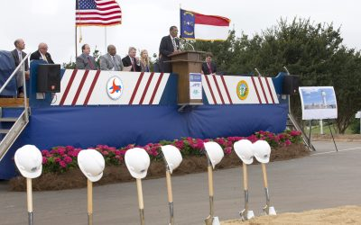 Federal Aviation Administration Breaks Ground for a New Air Traffic Control Tower at PTI