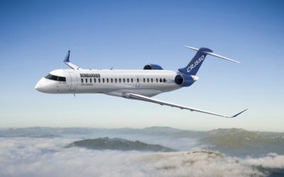 Greensboro Among First to Fly on World's Only Two-Cabin, 50-Seat Aircraft