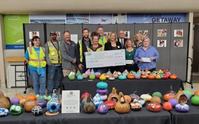 Archer Western Federal presents checks to local Autism Agencies