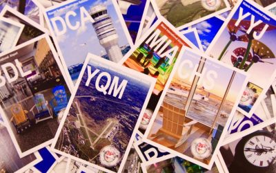 All About Airport Trading Cards