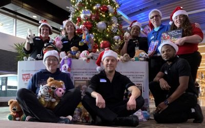 Paradies Lagardère is Collecting Donations for Toys for Tots!